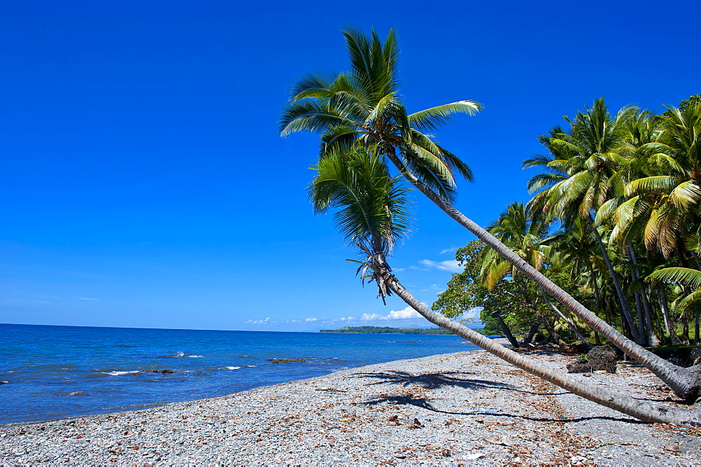 Beach on Savo Island, Savo, Solomon Islands, Pacific