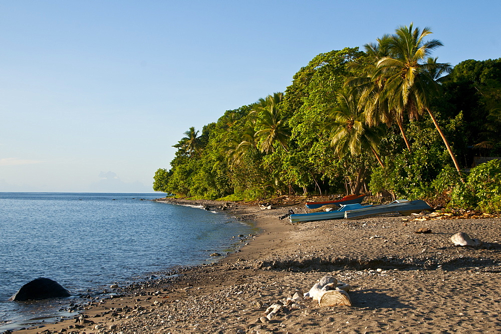 Beach on Savo Island, Solomon Islands, Pacific
