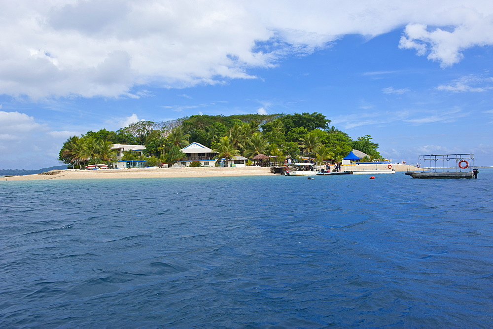 Hideaway island near Port Vila, Island of Efate, Vanuatu, South Pacific, Pacific