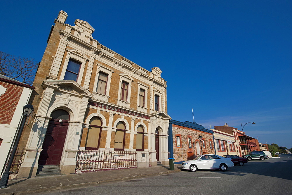 Colonial architecture in Port Adelaide, South Australia, Australia, Pacific
