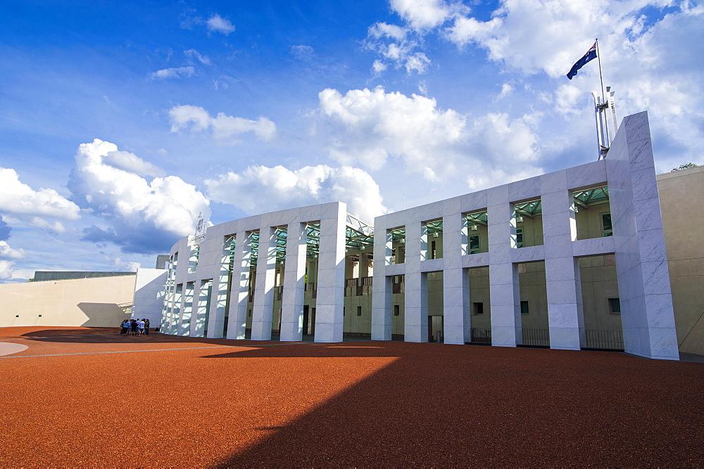 The Australian Parliament in Canberra, Australian Capital Territory, Australia, Pacific
