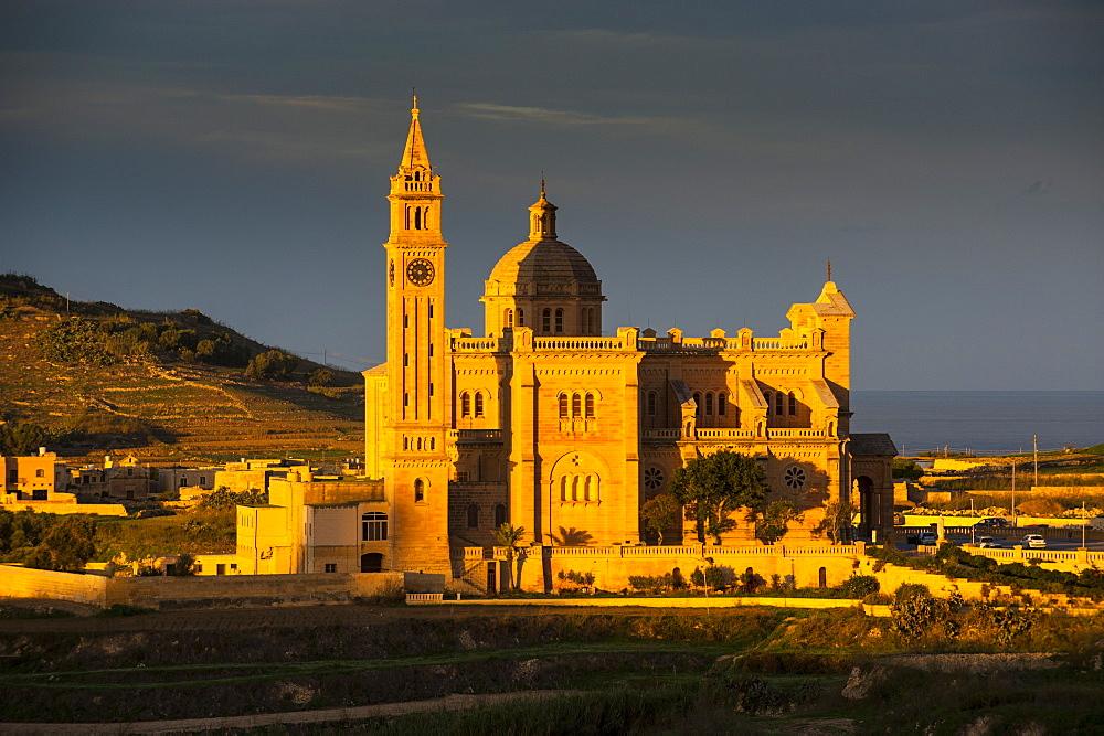 Basilica Ta Pinu, Gozo, Malta, Europe