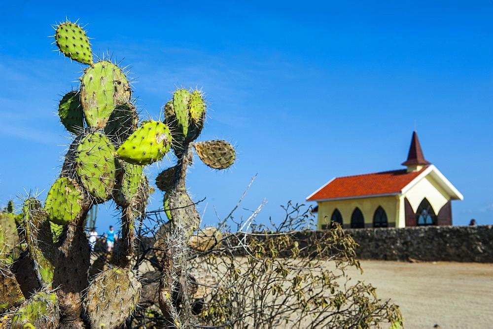 Chapel of Alto Vista, Aruba, ABC Islands, Netherland Antilles, Caribbean, Central America