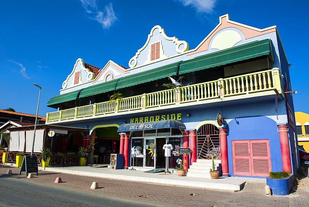 Kralendijk capital of Bonaire, ABC Islands, Netherlands Antilles, Caribbean, Central America