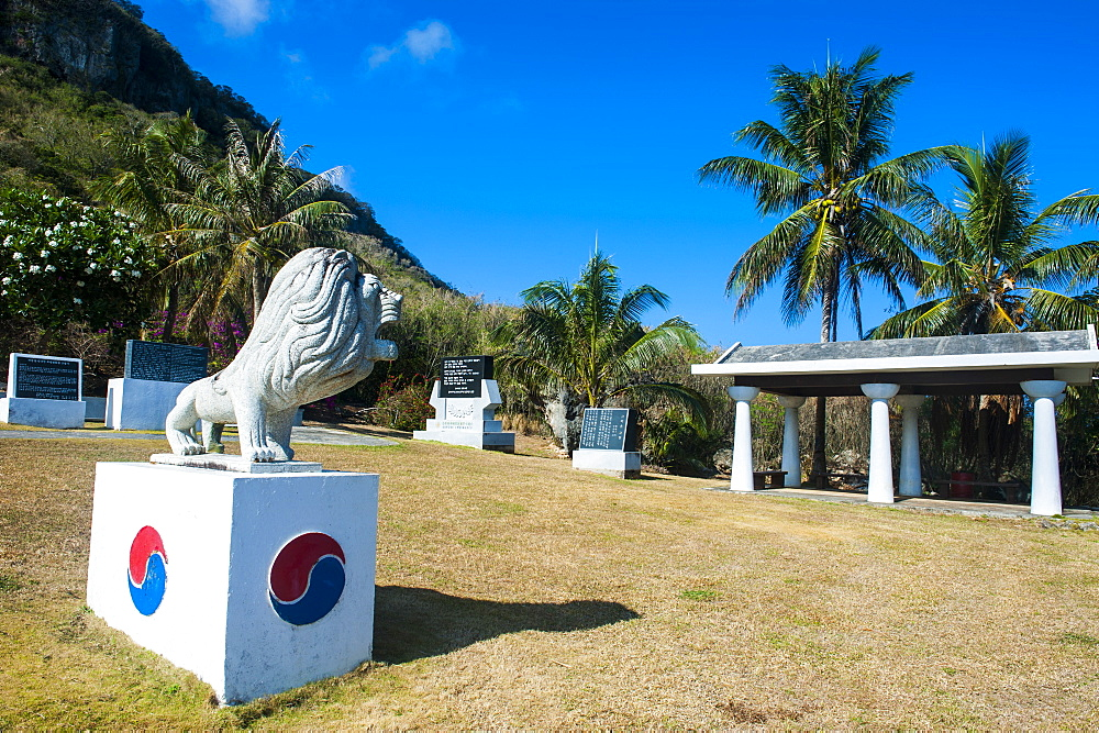 World War II memorial, Saipan, Northern Marianas, Central Pacific, Pacific