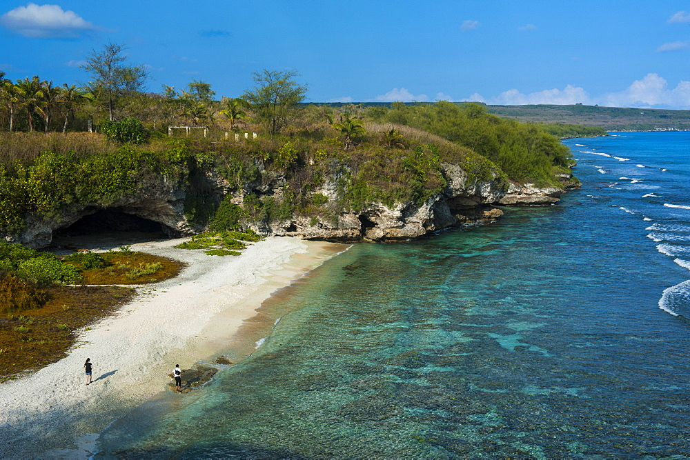 Ladder Beach, Saipan, Northern Marianas, Central Pacific, Pacific