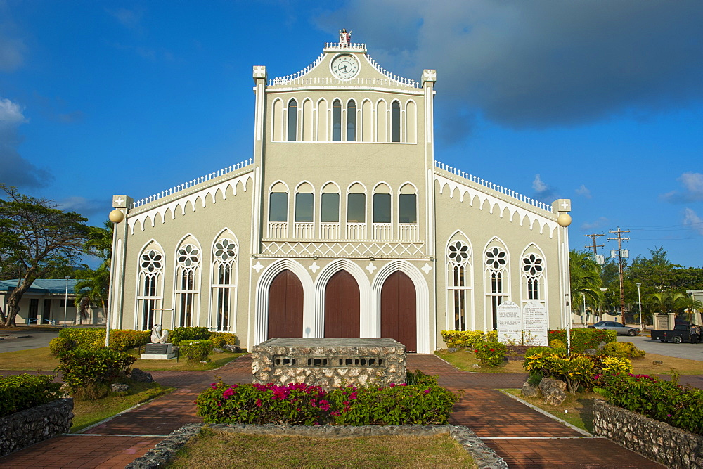 Cathedral of Mount Carmel, Garapan, Saipan, Northern Marianas, Central Pacific, Pacific
