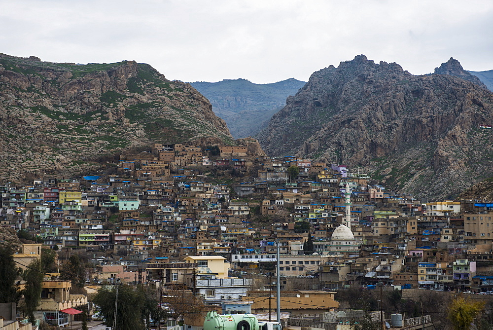 Ancient town of Akre, Iraq Kurdistan, Iraq, Middle East