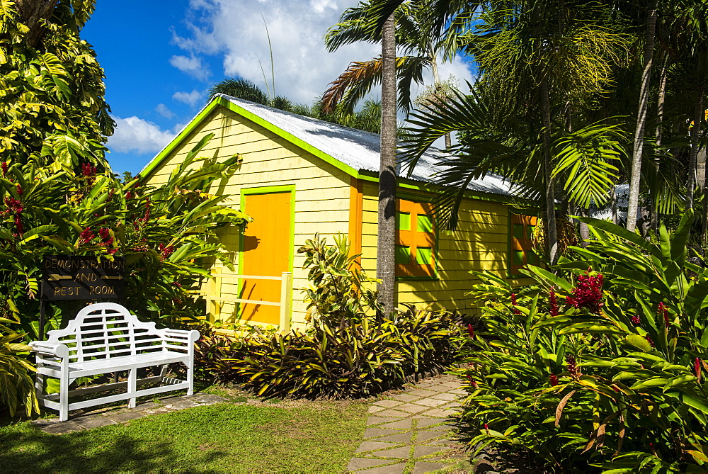 Romney Manor on St. Kitts, St. Kitts and Nevis, Leeward Islands, West Indies, Caribbean, Central America