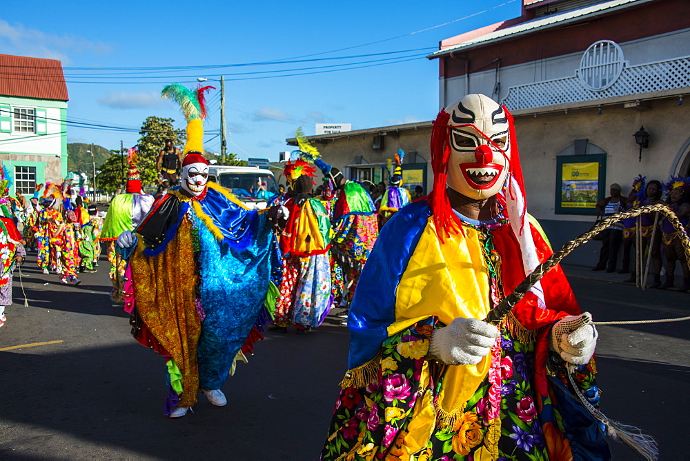 Carnival in Basseterre, St. Kitts, St. Kitts and Nevis, Leeward Islands, West Indies, Caribbean, Central America