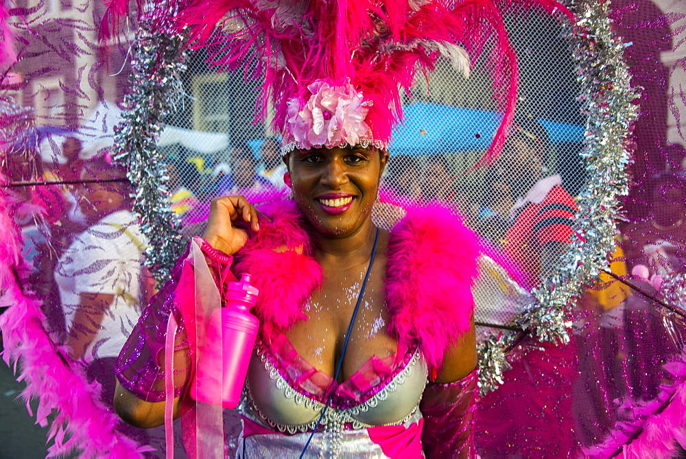 Carnival in Basseterre, St. Kitts, St. Kitts and Nevis, Leeward Islands, West Indies, Caribbean, Central America - 816-4166