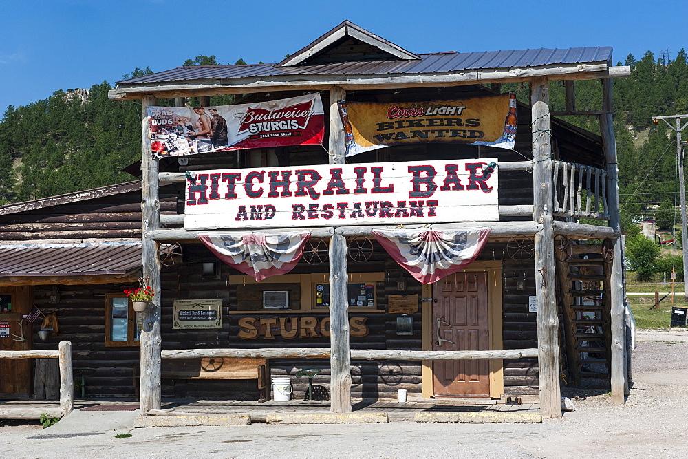 Wild western bar, Black Hills, South Dakota, United States of America, North America