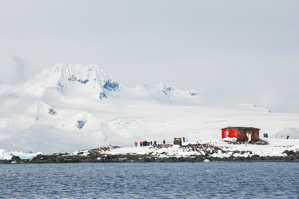 Argentinean research station on Mikkelson Island, Antarctica, Polar Regions