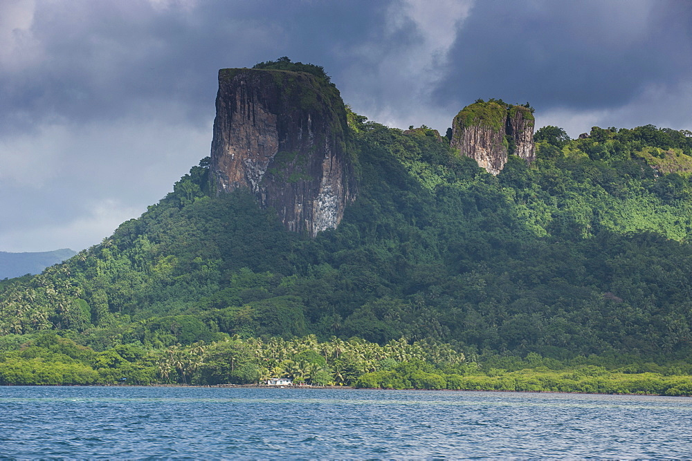 Sokehs Rock, Pohnpei (Ponape), Federated States of Micronesia, Caroline Islands, Central Pacific, Pacific