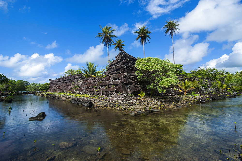 Ruined city of Nan Madol, Pohnpei (Ponape), Federated States of Micronesia, Caroline Islands, Central Pacific, Pacific