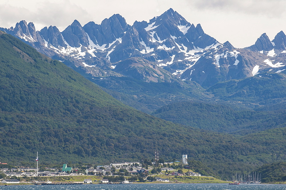 Puerto Wlliams, Beagle Channel, Tierra del Fuego, Chile, South America