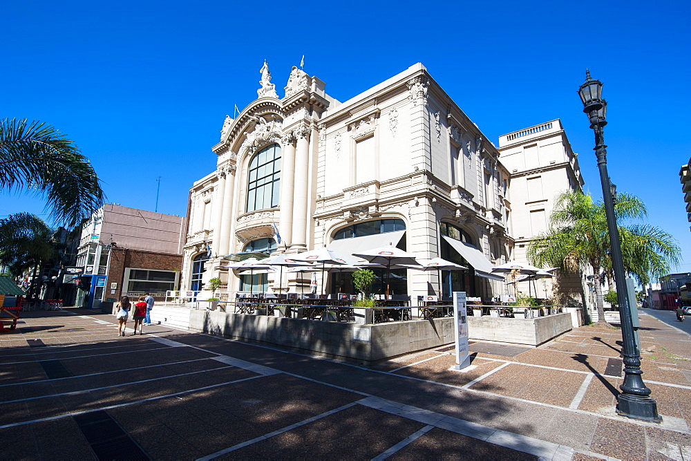 Municipal theater of Santa Fe, capital of the province of Santa Fe, Argentina, South America