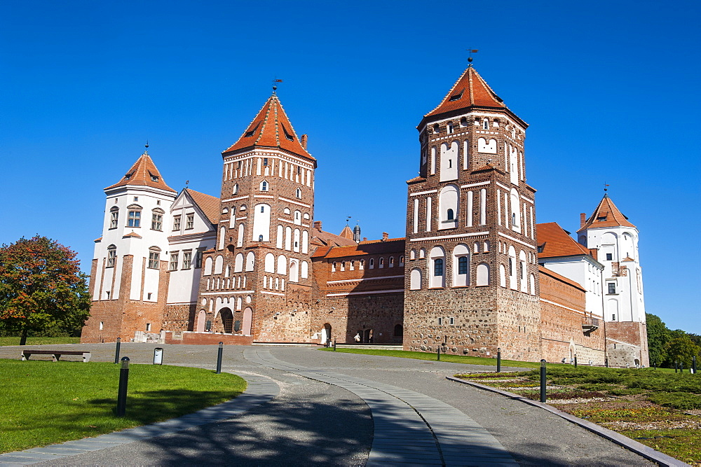 Mir Castle, UNESCO World Heritage Site, Belarus, Europe