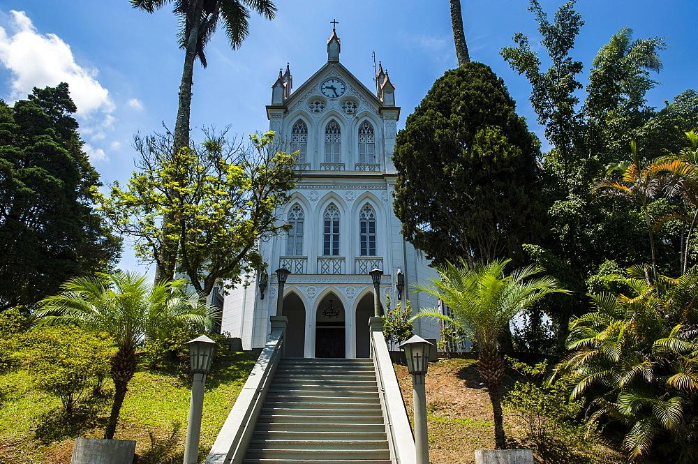 Evangelical Lutheran Church in the German town of Blumenau, Brazil, South America