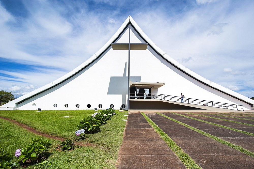Military church in Brasilia, Brazil, South America