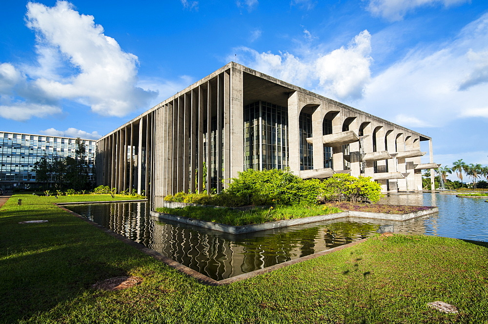 Ministry of Justice, Brasilia, UNESCO World Heritage Site, Brazil, South America