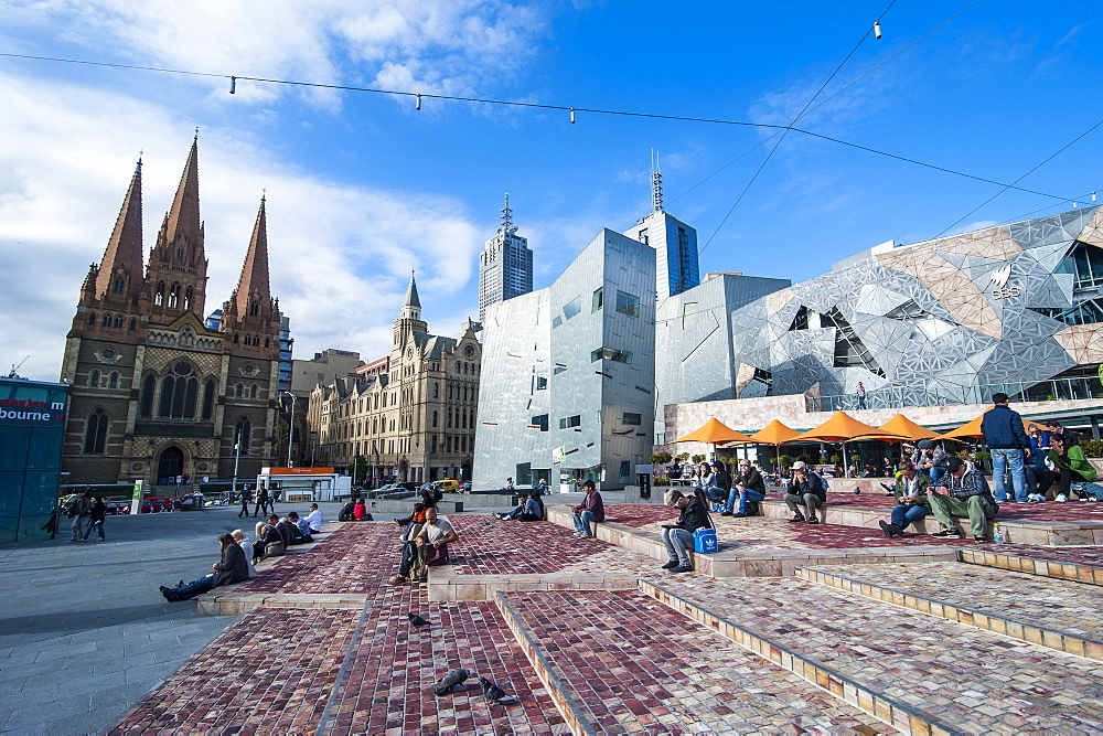 Australian Centre for the Moving Image at the Federation Square, Melbourne, Victoria, Australia, Pacific