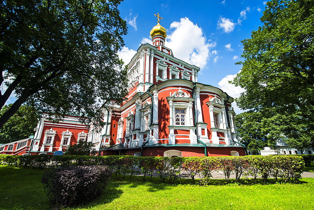 Novodevichy Convent, Moscow, Russia, Europe