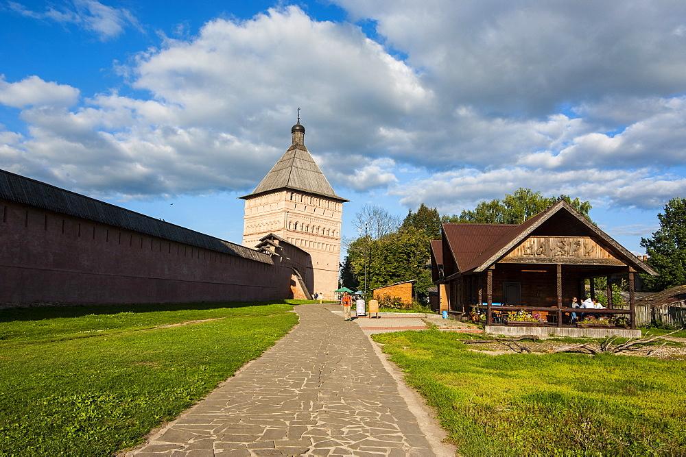 The Kremlin, UNESCO World Heritage Site, Suzdal, Golden Ring, Russia, Europe