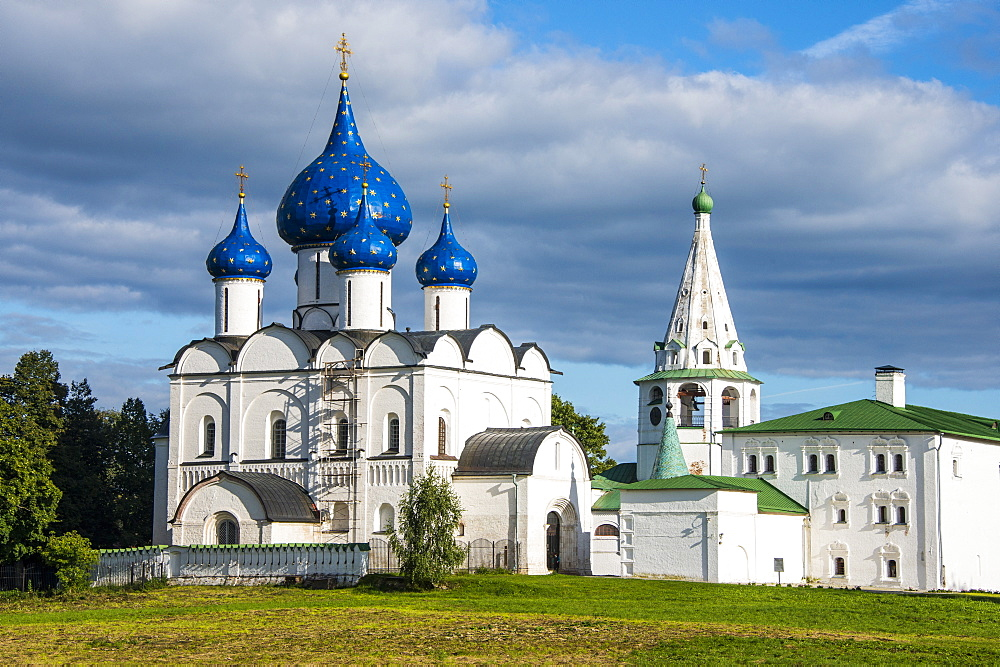 Nativity of the Virgin Cathedral, UNESCO World Heritage Site, Suzdal, Golden Ring, Russia, Europe