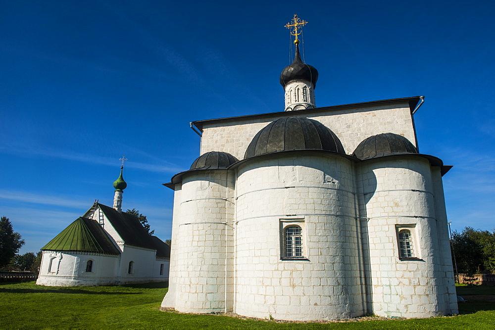 Church of Boris and Gleb in Kidesha (Kideksha), UNESCO World Heritage Site, near Suzdal, Golden Ring, Russia, Europe