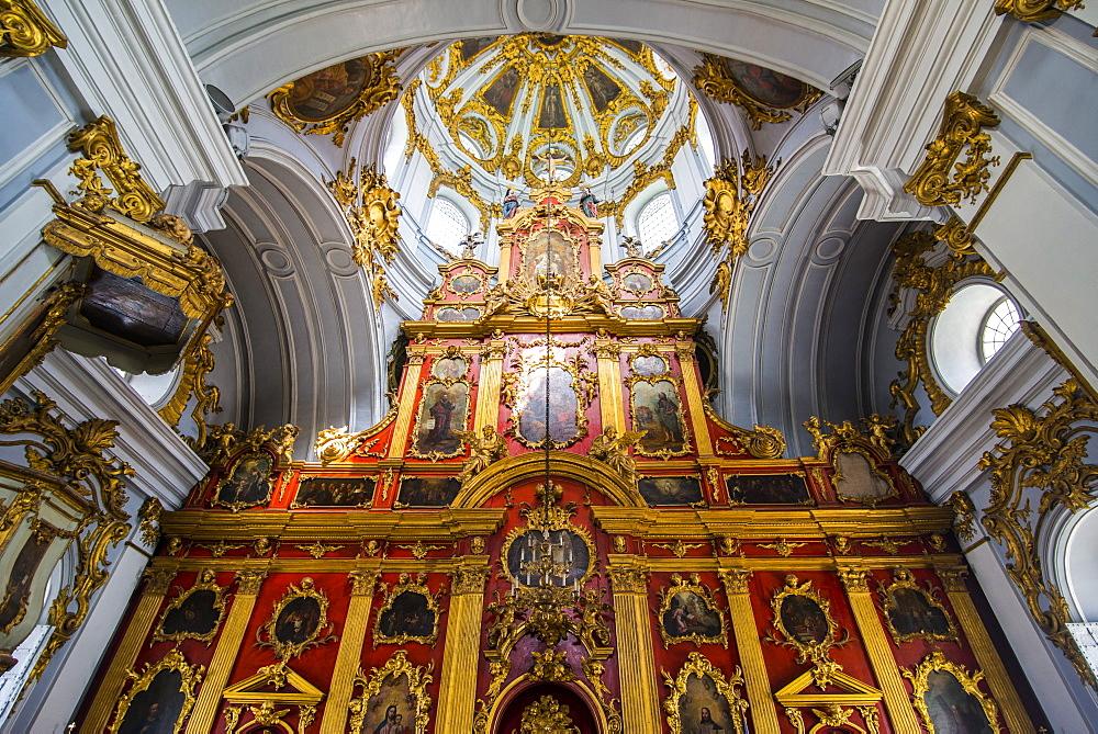 St. Andrews Church in Kiev (Kyiv), Ukraine, Europe