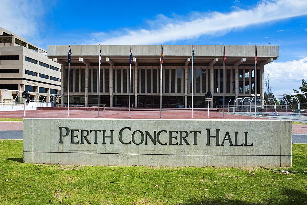 Perth Concert Hall, Perth, Western Australia, Australia, Pacific