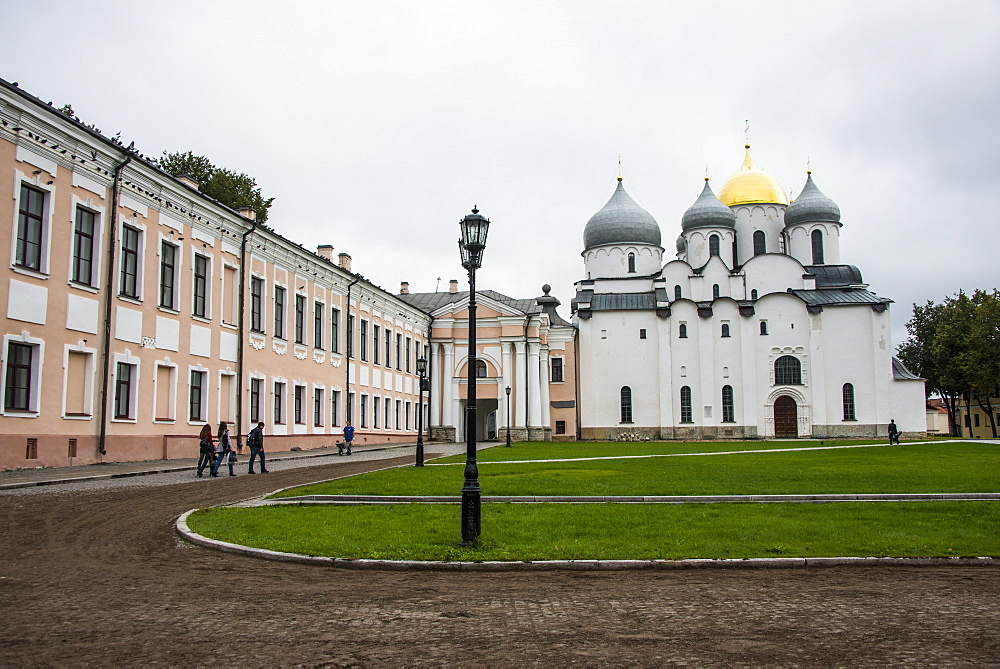 Cathedral of St. Sophia, UNESCO World Heritage Site, Novgorod, Russia, Europe