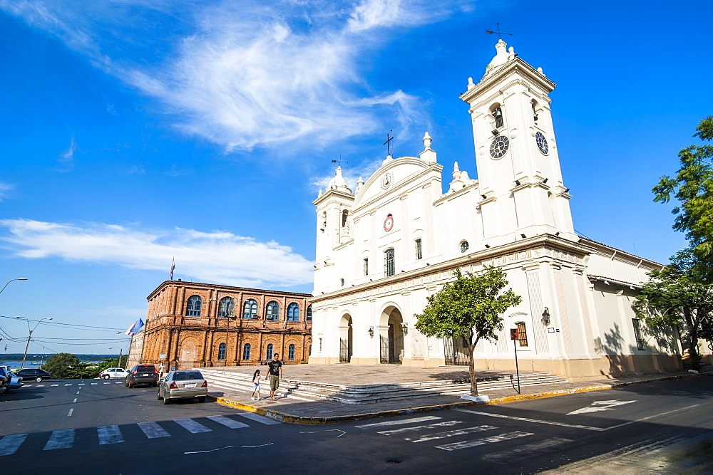 Cathedral of Asuncion, Asuncion, Paraguay, South America