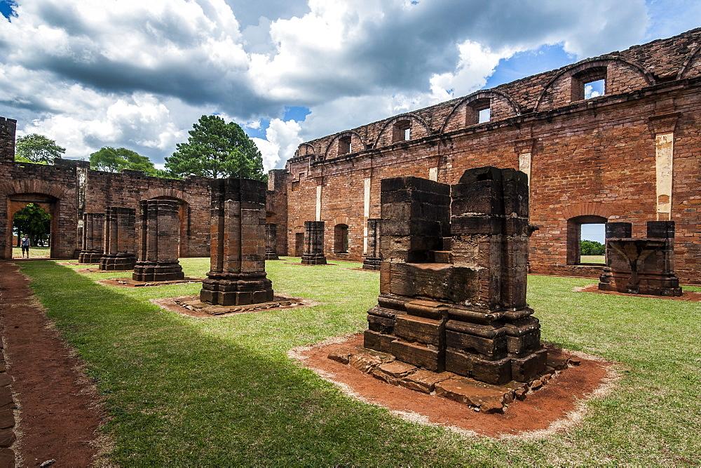 Jesuit Mission of Jesus de Tavarangue, UNESCO World Heritage Site, Paraguay, South America