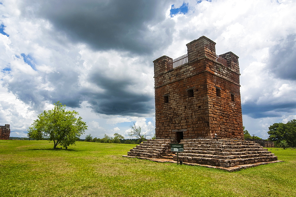 Jesuit Mission of La Santisima Trinidad, UNESCO World Heritage Site, Paraguay, South America