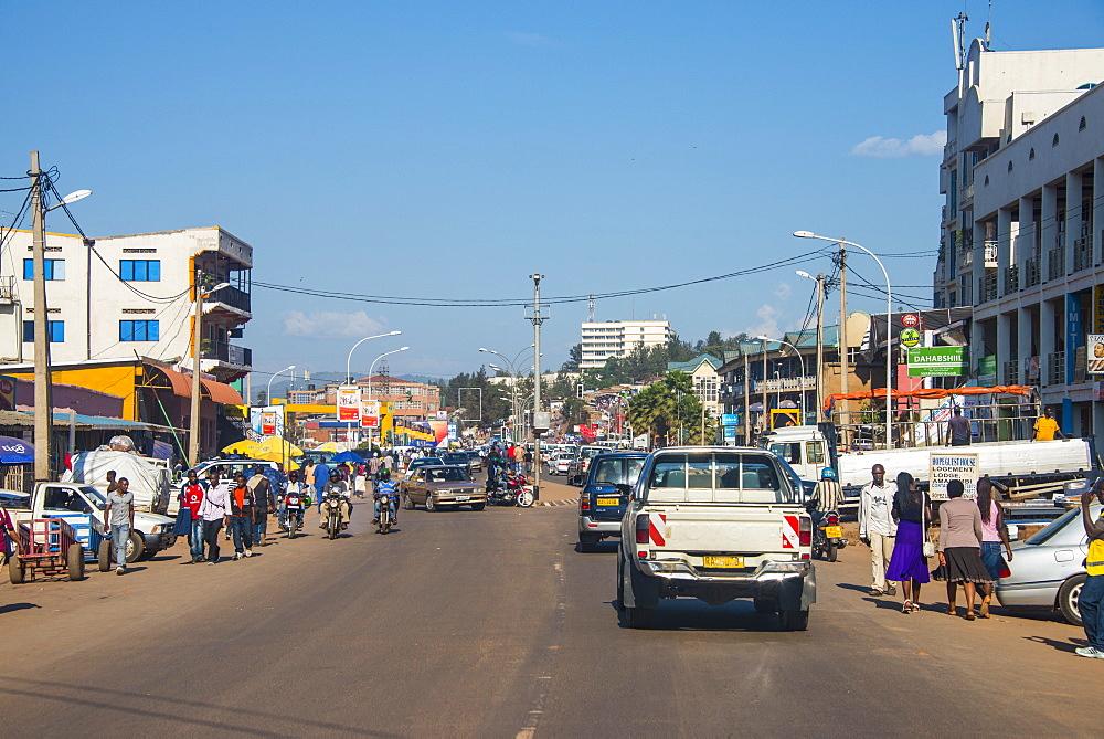 Downtown Kigali, Rwanda, Africa