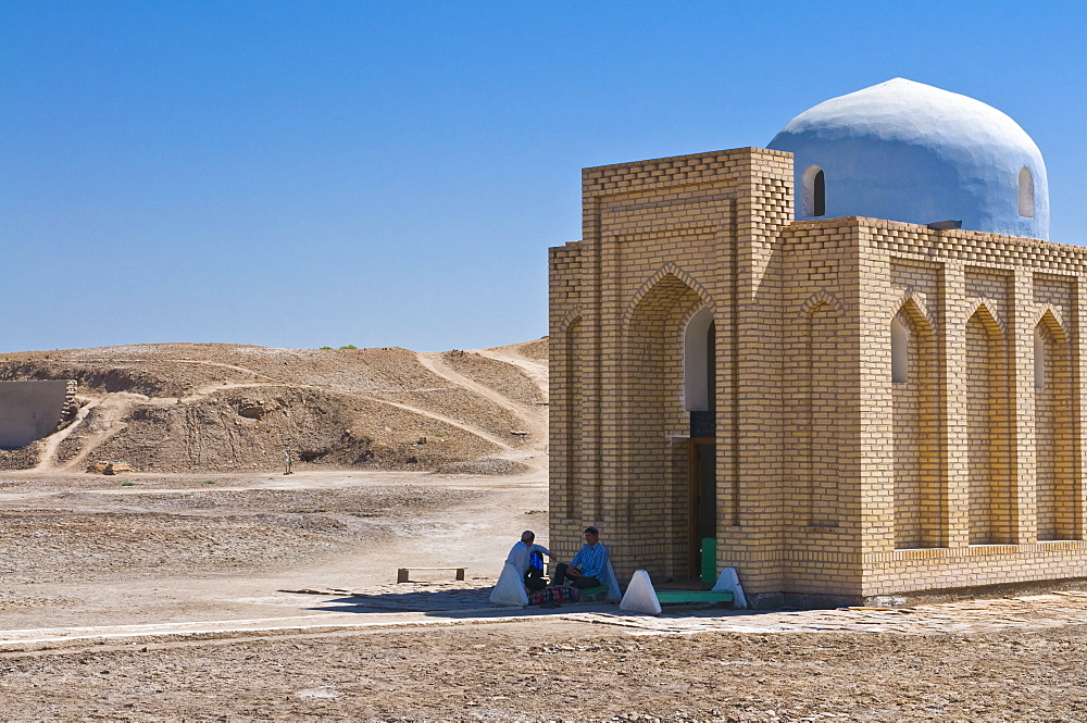 Mosque, Konye Urgench, UNESCO World Heritage Site, Turkmenistan, Central Asia, Asia