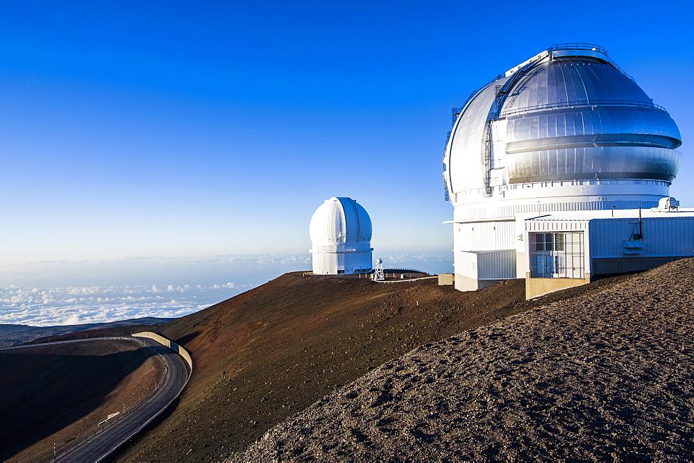 Observatory on Mauna Kea, Big Island, Hawaii, United States of America, Pacific - 816-6134