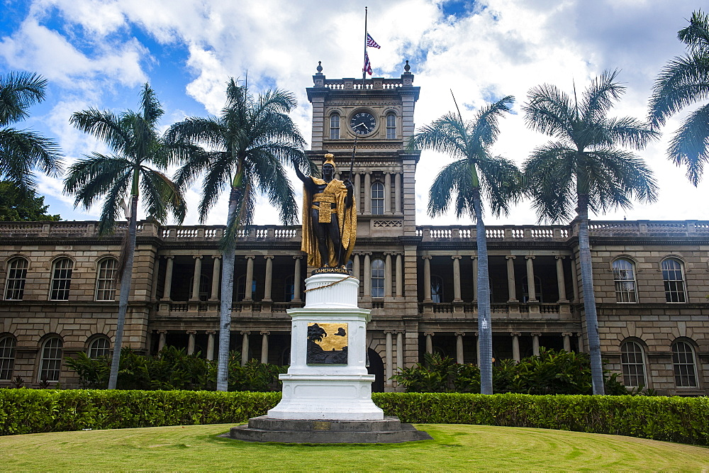 Iolani Palace, Honolulu, Oahu, Hawaii, United States of America, Pacific
