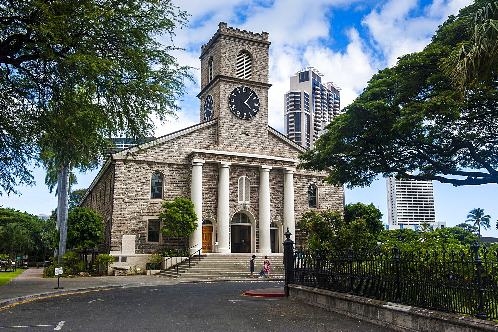 Kawaiahao church Honolulu, Oahu, Hawaii, United States of America, Pacific