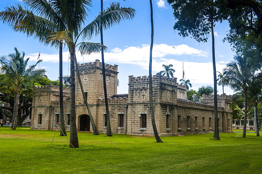 Iolani Barracks, Honolulu, Oahu, Hawaii, United States of America, Pacific