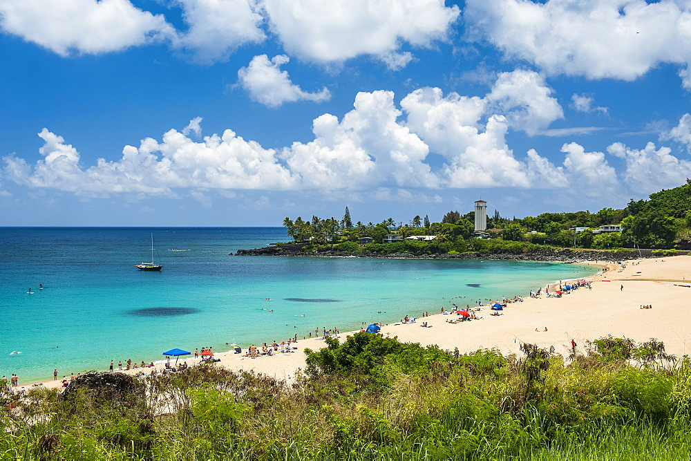 Waimea Bay, North Shore Oahu, Hawaii, United States of America, Pacific