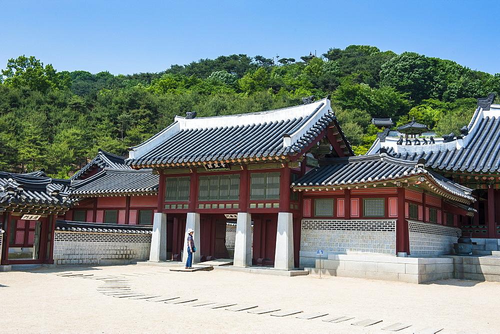 Hwaseong Haenggung Palace, UNESCO World Heritage Site, fortress of Suwon, South Korea, Asia