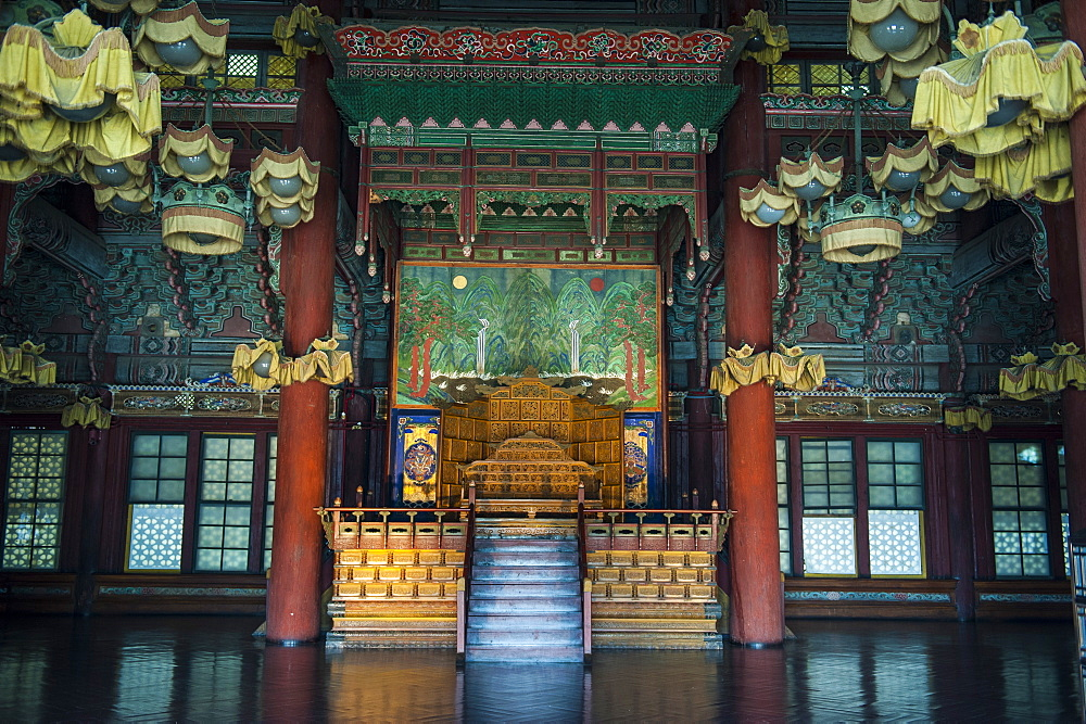 Changdeokgung Palace, UNESCO World Heritage Site, Seoul, South Korea, Asia