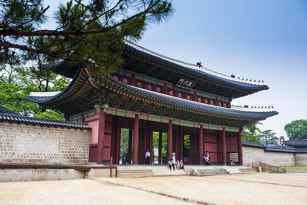 Changdeokgung Palace, UNESCO World Heritage Site, Seoul, South Korea, Asia
