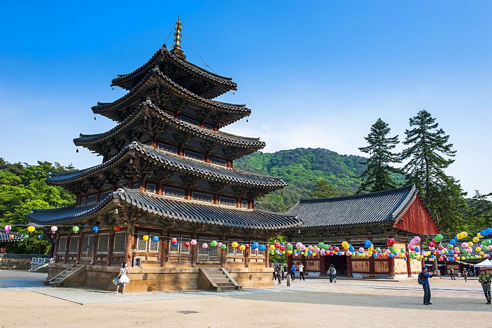 Beopjusa Temple Complex, South Korea, Asia