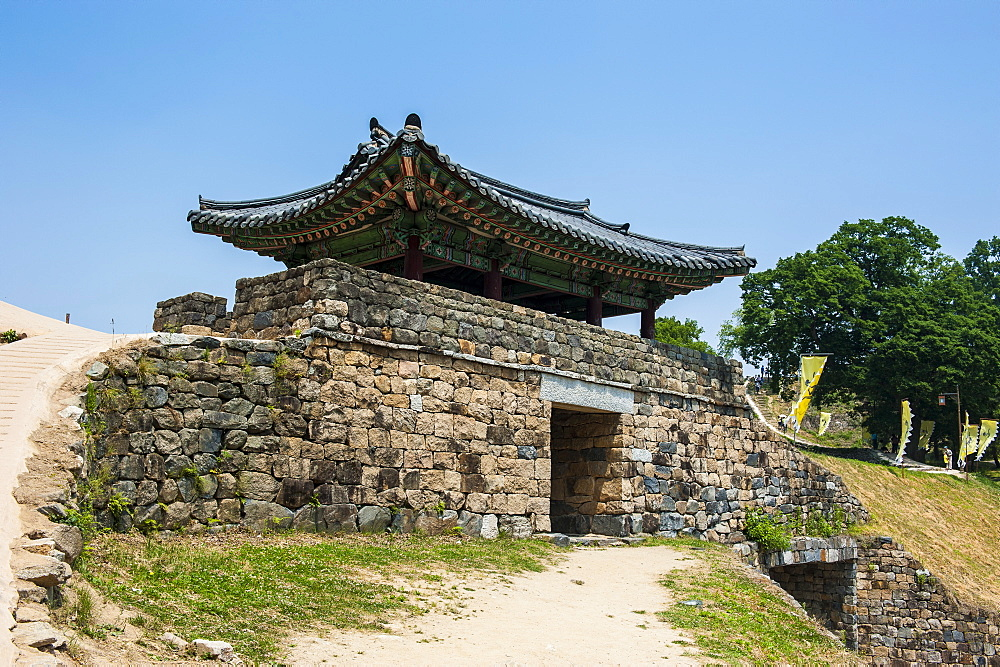 Gongsanseong Castle, Gongju, South Chungcheong Province, South Korea, Asia