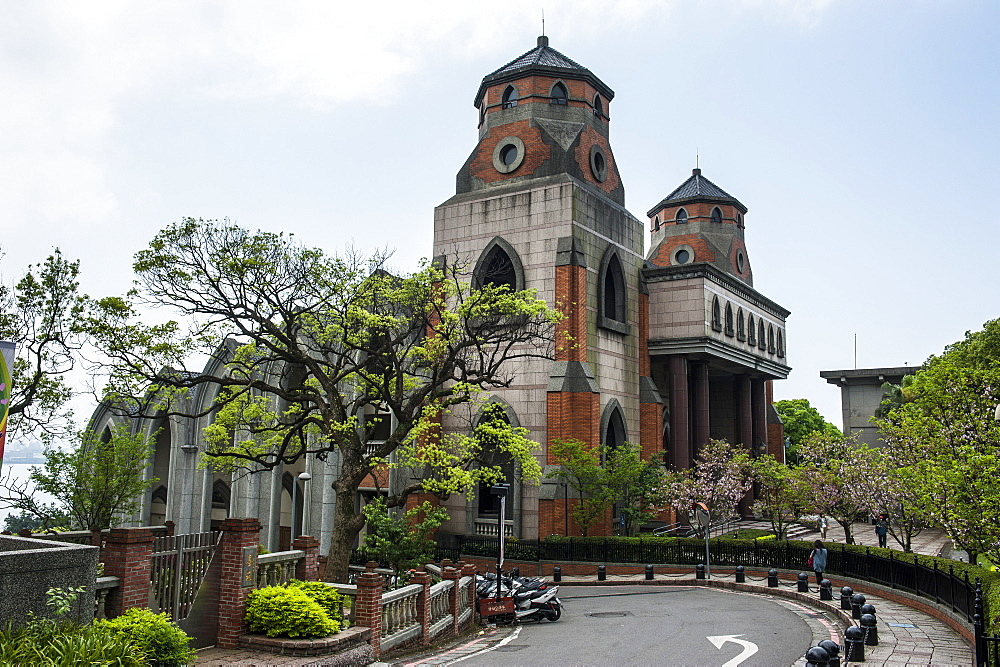 Oxford College in the Alethia University, Danshui, suburb of Taipeh, Taiwan, Asia
