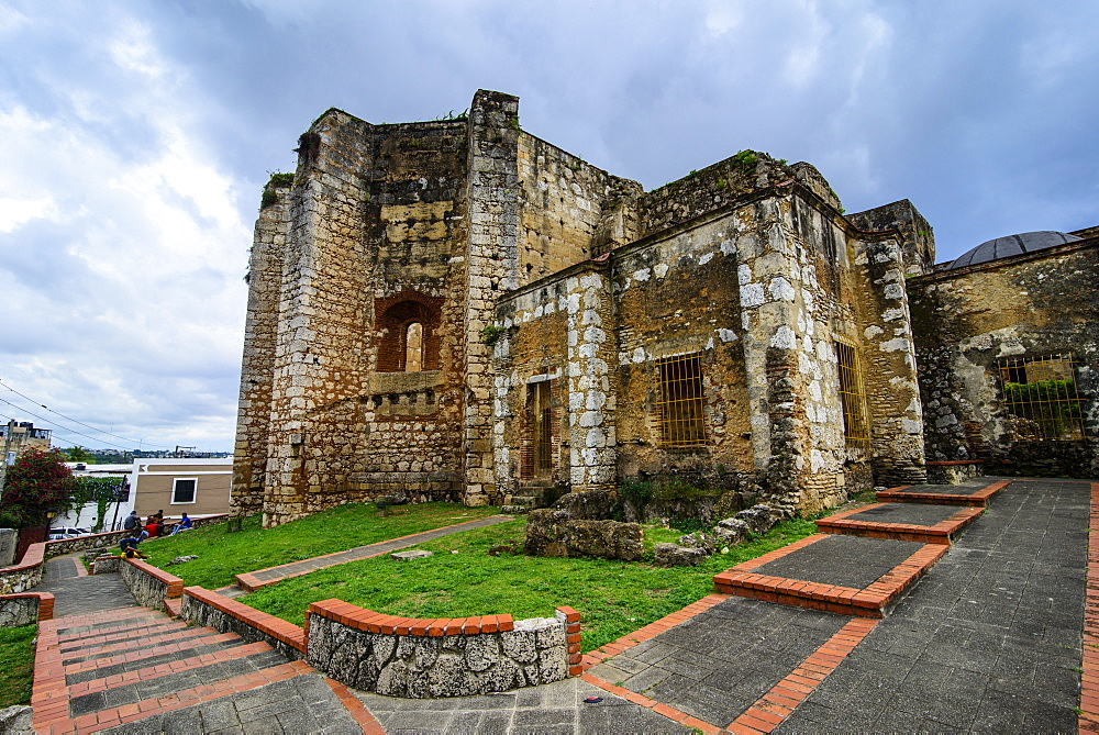 Monasterio de San Francisco, Old Town, UNESCO World Heritage Site, Santo Domingo, Dominican Republic, West Indies, Caribbean, Central America